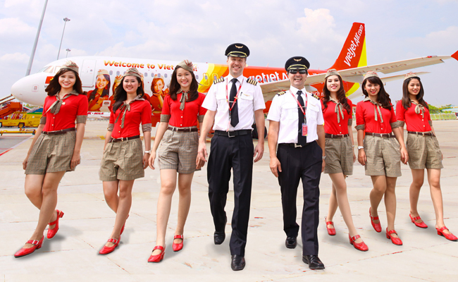 ve may bay gia re cua hang vietjet air
