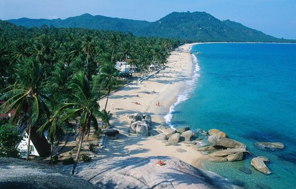 ve may bay di koh samui