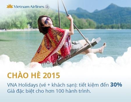 Vietnam Airlines – Khuyến mãi vé máy bay giá rẻ chào hè 2015